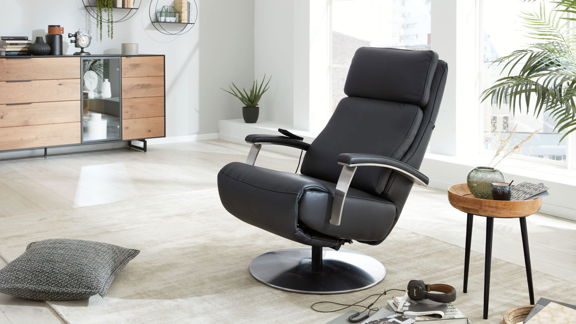 Relaxsessel-Interliving-aus-Leder-in-Grau