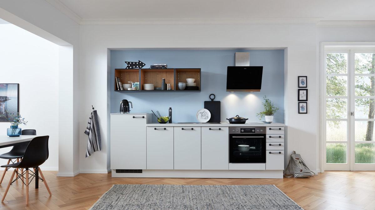WERT-KÜCHE Einbauküche Stella mit AEG Einbaugeräten