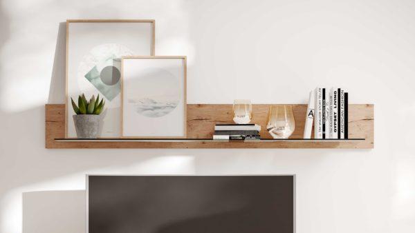Interliving Wohnzimmer Serie 2105 – Wandregal WI195