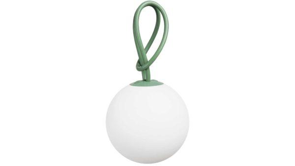 FATBOY BOLLEKE LED-Leuchte mit Akku, industrial green, grün-weiss